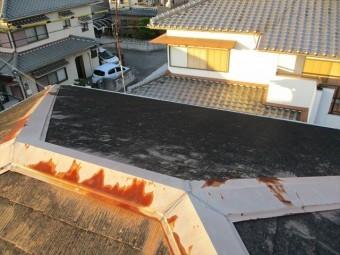 加古川市の棟板金のサビ