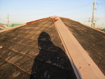 加古川市の屋根板金のサビ