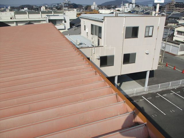姫路市の棟板金復旧工事の完了後の写真