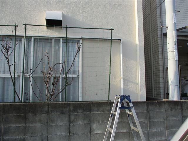 加古川市の既存の雨戸撤去