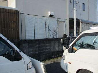 加古川市の雨戸の微調整