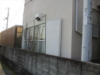 加古川市の雨戸の入替完了