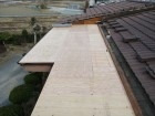 加西市のルーフィング施工