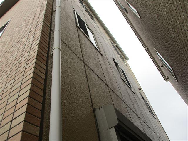 姫路市の壁面の調査