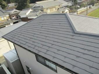姫路市のカラーベストの屋根