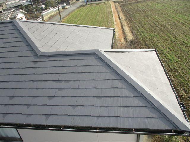 姫路市のカラーベストの屋根の調査