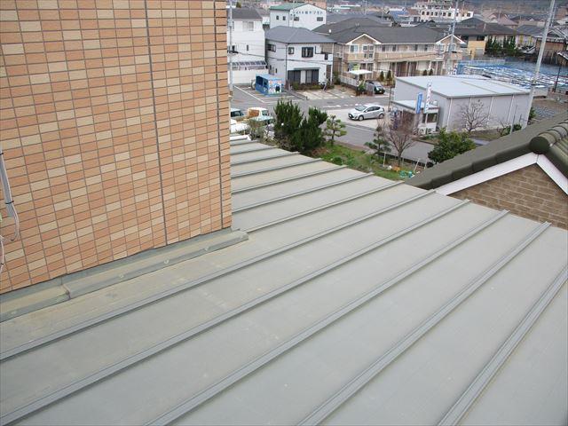 姫路市の金属屋根の現地調査