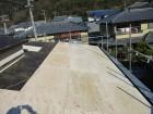 姫路市の屋根葺き替え下地増し張り