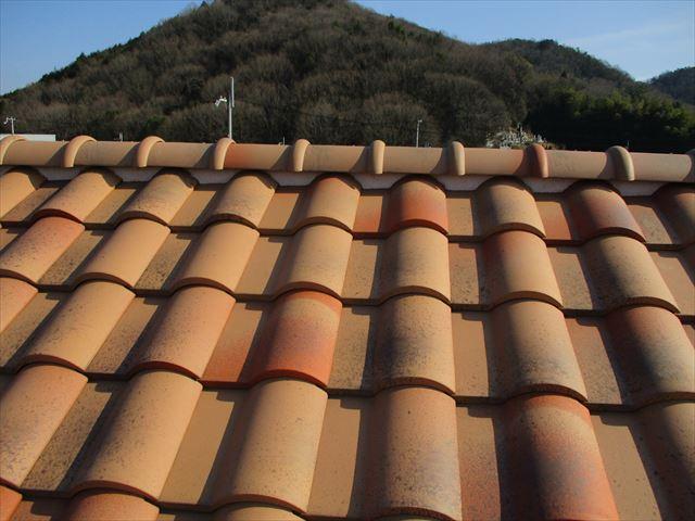 姫路市の屋根の漆喰の現地調査