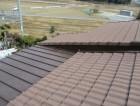 加西市のガルバリウム立平葺きで葺き替え完工写真