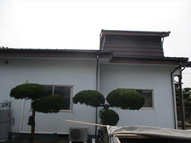加西市で銅一文字屋根葺き替え完工