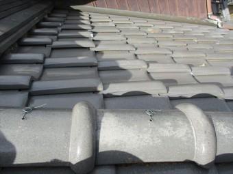 姫路市飾東町の屋根瓦