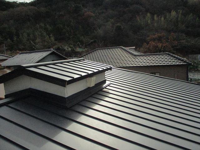 姫路市屋根葺き替え完成写真