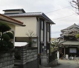 姫路市のスレートから立平葺きでの葺き替え