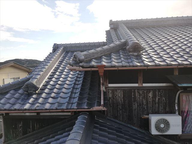 加古川市の雨漏り点検の瓦屋根