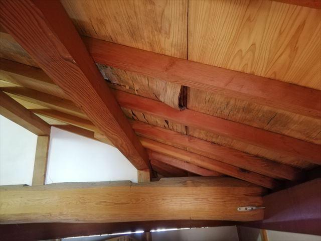 加古川市で雨漏り無料診断のお宅の天井の状態
