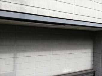 加古郡播磨町の雨漏り無料点検の軒天脱落
