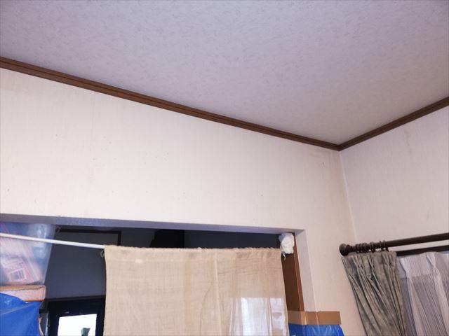 加古郡播磨町の無料点検の雨漏りした天井部分