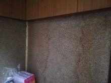 雨漏り被害による壁の染み