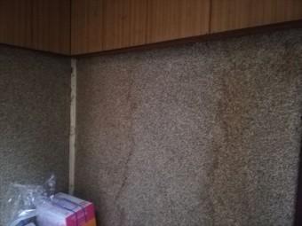 相生市の雨漏りの壁の雨染み