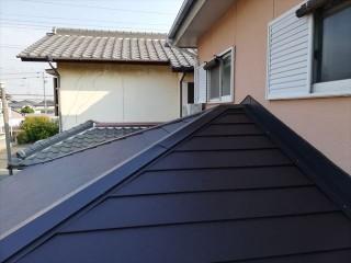 火災保険を適用し工事を行った屋根葺き替え工事