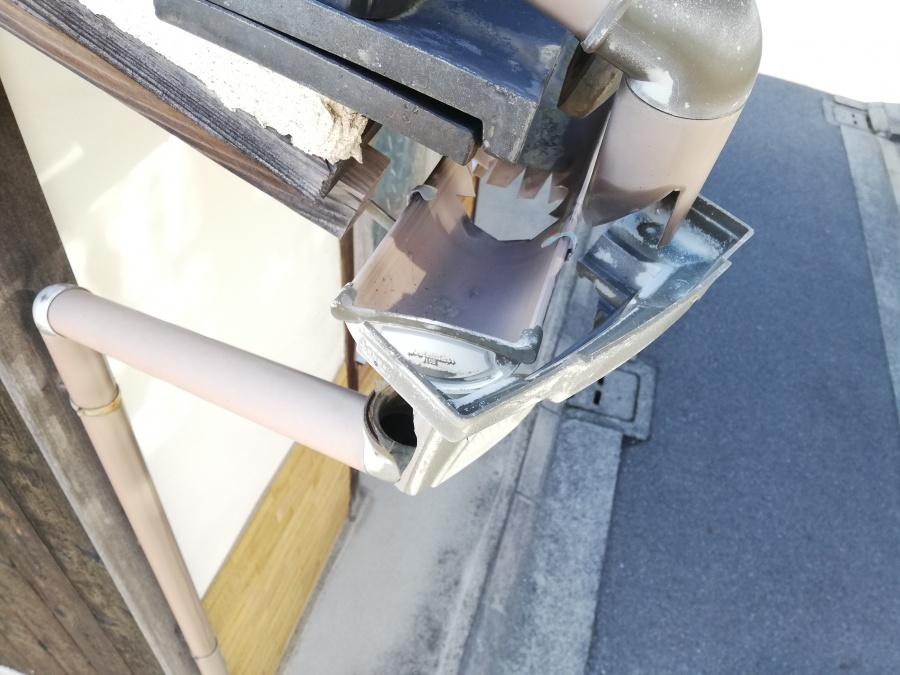 姫路市で車で壊れた上戸の集水器