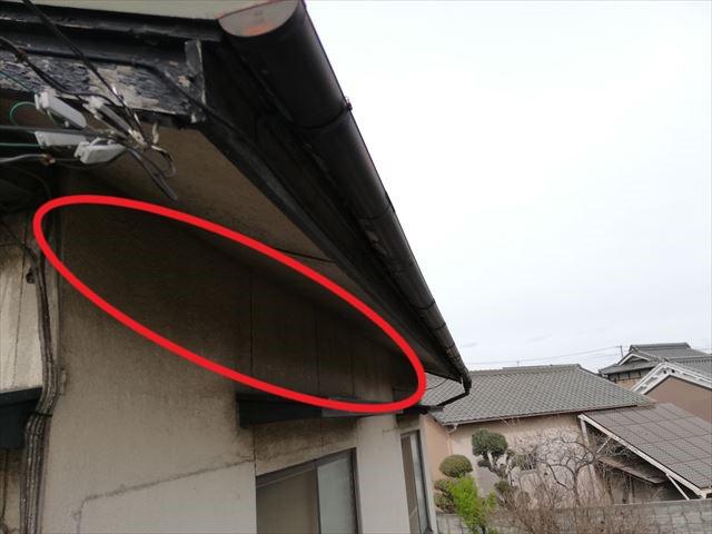姫路市の無料点検の外壁塗膜の劣化の状況