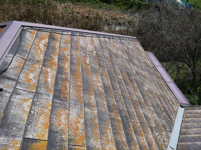 姫路市の経年劣化のスレート屋根