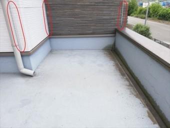 姫路市の無料点検のサイディング目地のシーリングの劣化