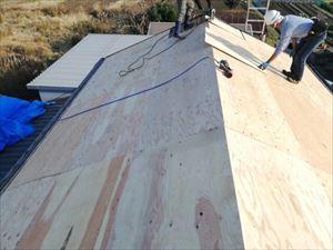 姫路市新しい屋根下地