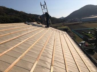 瓦屋根 引っ掛け工法