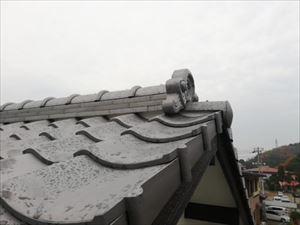 姫路市葺き替え鬼瓦