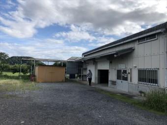 たつの市倉庫改修外観ビフォー