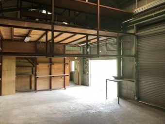 たつの市倉庫改修内部ビフォー