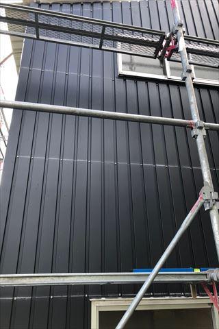 たつの市倉庫改修 外壁