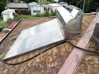加古郡の屋根の使用していない温水器