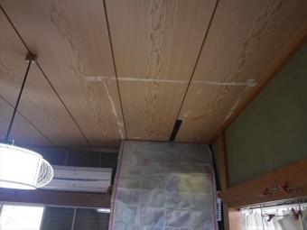 姫路市台風で雨漏り