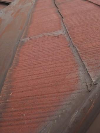 加古川市のスレート屋根のやってはいけないコーキング