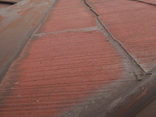 加古川市の雨漏りでの現地調査