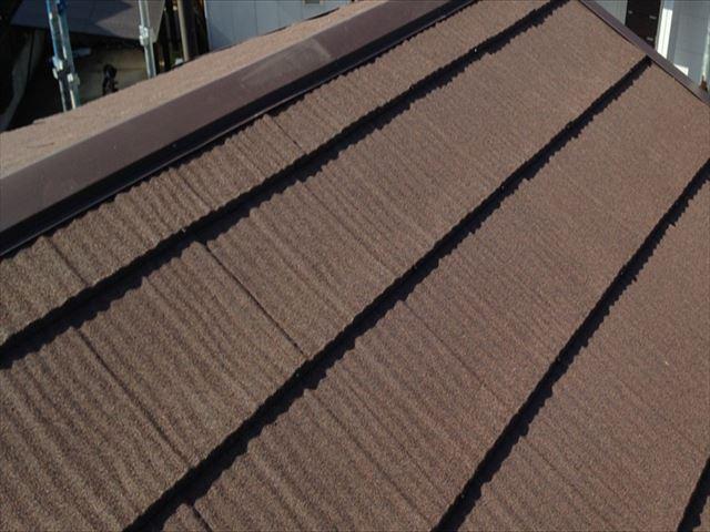 ハイブリッド屋根材 エコグラーニ取り付け