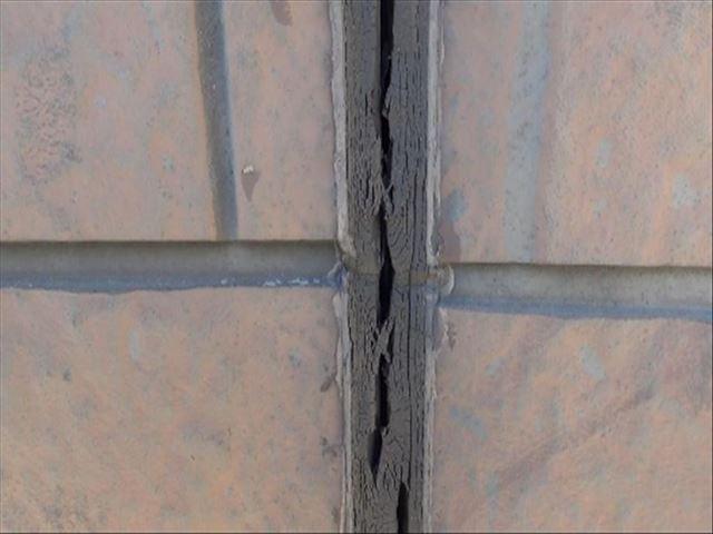 外壁シーリング劣化