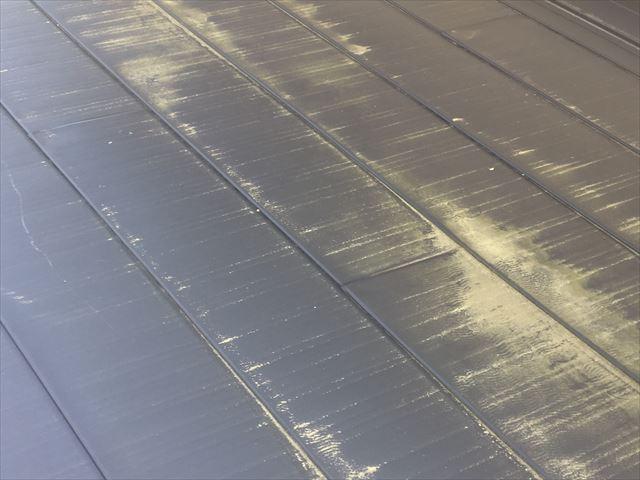 横葺きの金属屋根 劣化