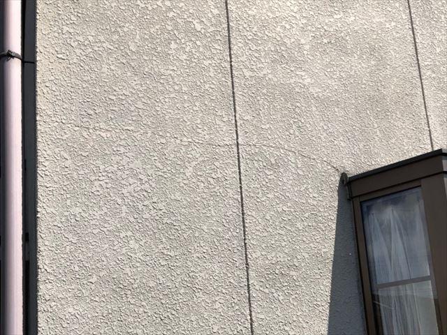 姫路市の無料点検の外壁劣化のクラックの状況