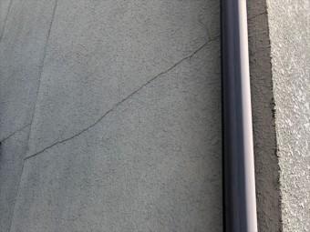 姫路市の無料点検の外壁のクラックの状況